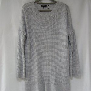 Theory S Cashmere Cinch Sleeve Pull Over Sweater